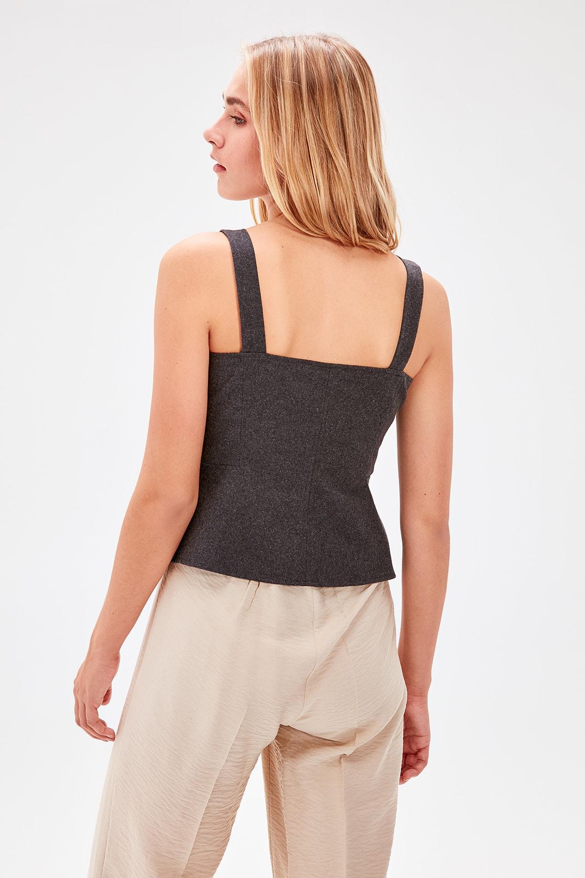 Trendyol Stone Lacing Detaylı Pants TWOSS19PL0125