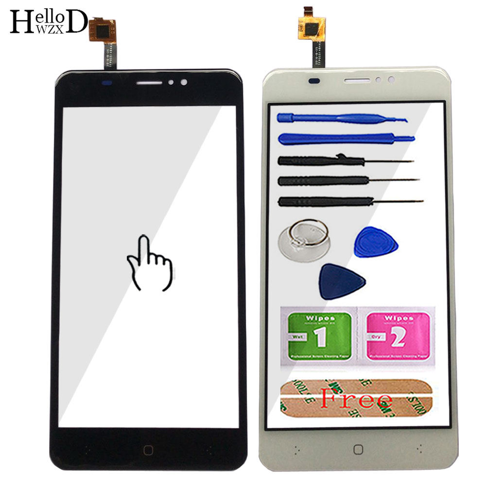 Mobile Touch Screen Glass For S-Tell M556 Touch Screen Glass Digitizer Panel Touch Screen Sensor Lens Tools Adhesive