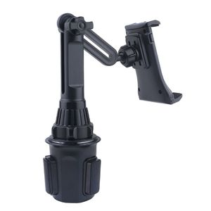 "Image 4 - Adjustable Car Cup Holder Cellphone Mount Stand for 3.5 12.5"" Smartphone Tablet"