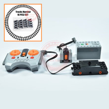 MOC RC Remote Control Motor Power Functions Fit Legoings Technic for 10219 10254 10183 75955 Train Building Block Brick Kid Gift