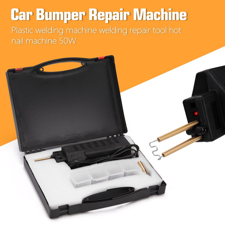 Professional Plastic Welding Machines Hot Staplers 50W Car Bumper Repairing Machine Welding Repairing Tool