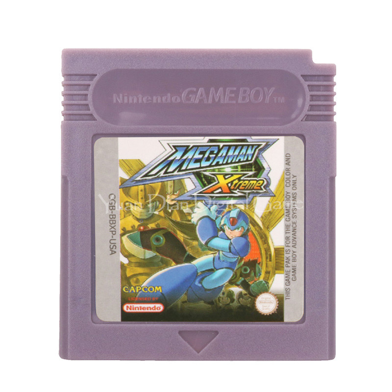 For Nintendo GBC Video Game Cartridge Console Card Mega Man Xtreme English Language Version