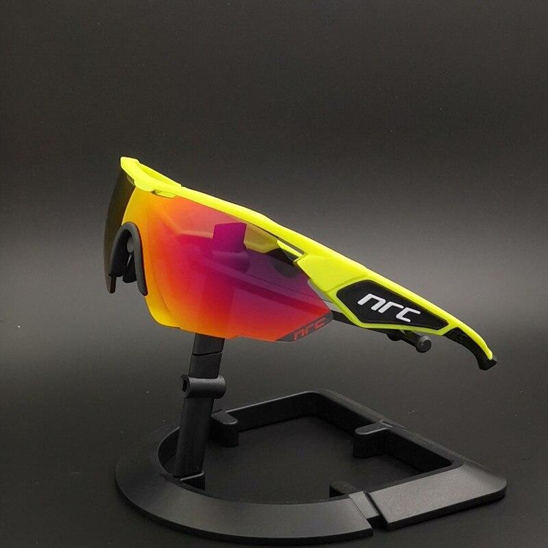 NRC Outdoor Photochromic Cycling Glasses Men Women Motorcycle Sunglasses UV400 Driving Fishing Glasses Oculos De CiclismoCycling Eyewear   -
