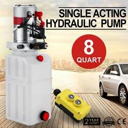 8L Hydraulic Power Pack Hydraulic Pump 12 V Volt Hydraulic Pump Plastic FUNK