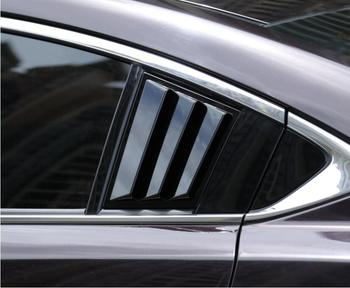 ABS Carbon Fiber Car Side Window Door Louver Scoop Frame Sill Molding Trim Cover For Mazda 6 ATENZA 2020 2021 Year