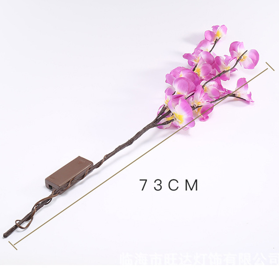 ramos de phalaenopsis ramos salgueiro para decoracao romantica da casa 05