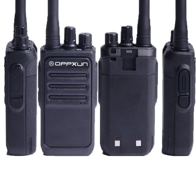 OPPXUN OPX-338 Walkie Talkie UHF 400-470 MHZ Portable Ham Radio Station 8W Long Range for Hunting Telsiz Two Way Car Cb Radio 3