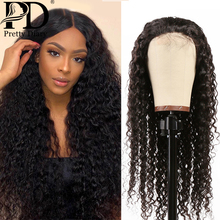 28 30 Inch Ombre Colored 13x4 Curly Lace Front Human Hair Wigs Deep Wave Frontal Wig Pre plucked For Black Women Remy Water Wave ombre lace front human hair wig for black women colored deep wave wig 13x4 brazilian hair frontal wig pre plucked remy brown wig