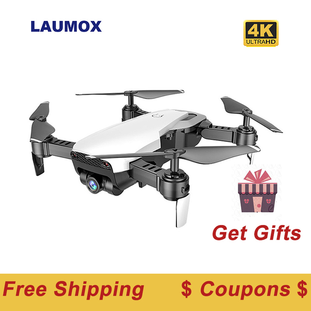LAUMOX M69G FPV RC Drone 4K Camera Optical Flow Selfie Dron Foldable Wifi Quadcopter Helicopter