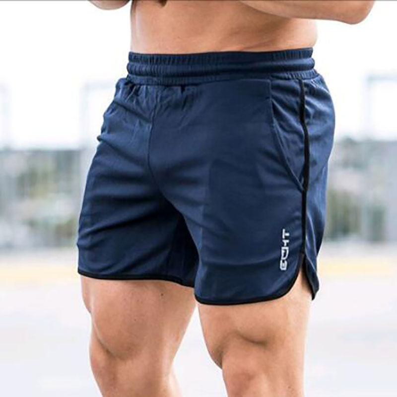 2019 New Arrival Summer Fashion Brand Men Shorts Fitness Bodybuilding Short Pants Beach Shorts Elastic Waist Shorts