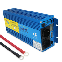 Digital Display 4000W Peak Pure Sine Wave Power Inverter DC 12V to AC 220V 230V 240V Converter Supply Solar Power