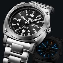 tritium watch men,mens military titanium automatic