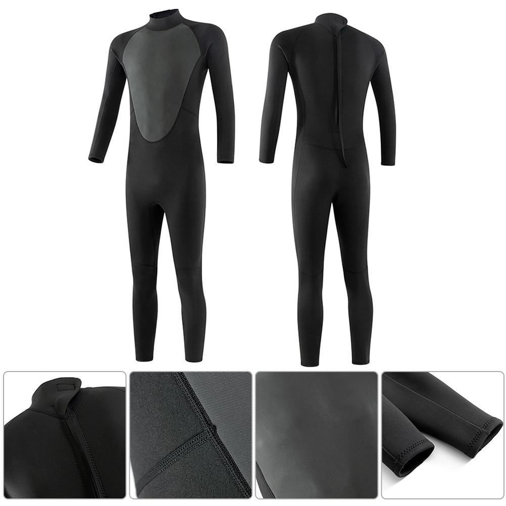 Männer Ganzkörper Neoprenanzug 3mm zum Tauchen Surfen Schnorcheln Wetsuit