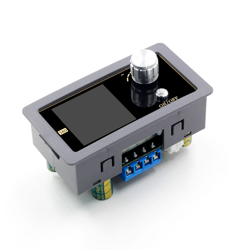 High Quality DC-580 Digital Controll Step Down-Boost Converter Adjustable Power Supply Module New Arrival
