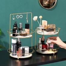 Светильник роскошная настольная стойка для хранения косметики