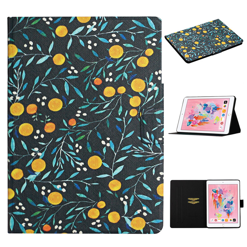 Cover 2019 Case Case iPad iPad Flower Generation 7th Painted 10 2 for Apple for Funda