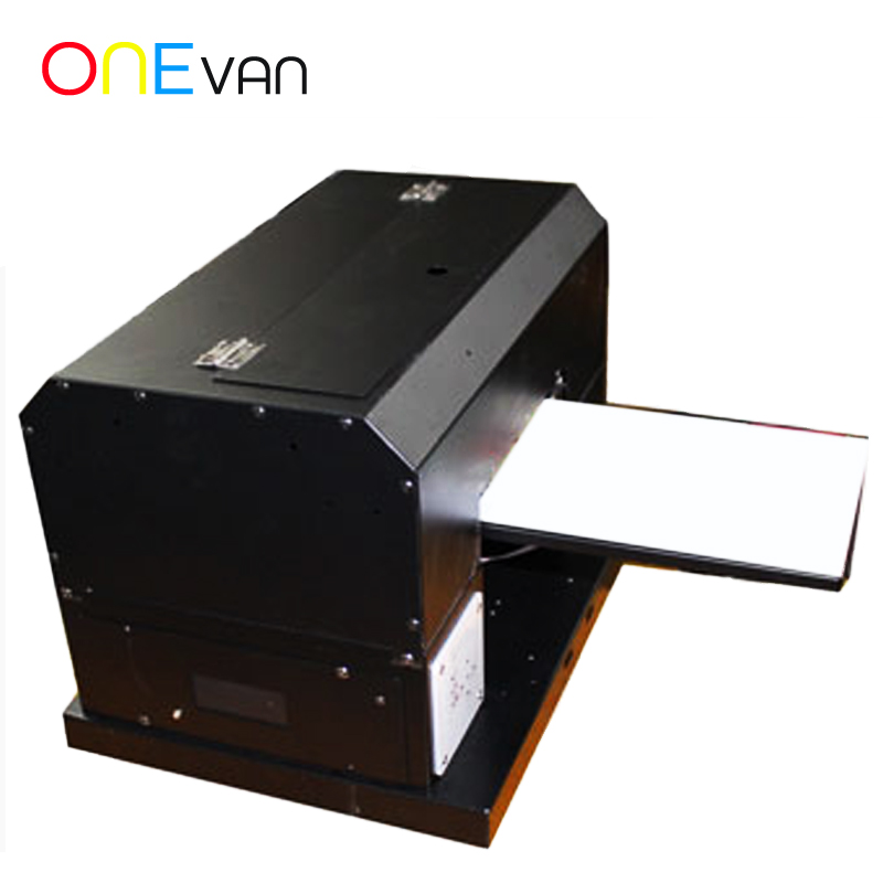 2019 Newest Arrivals UV Printer Automatic Flatbed Printers Computer & Office Office Electronics A4 Size Print Machine Free Ink