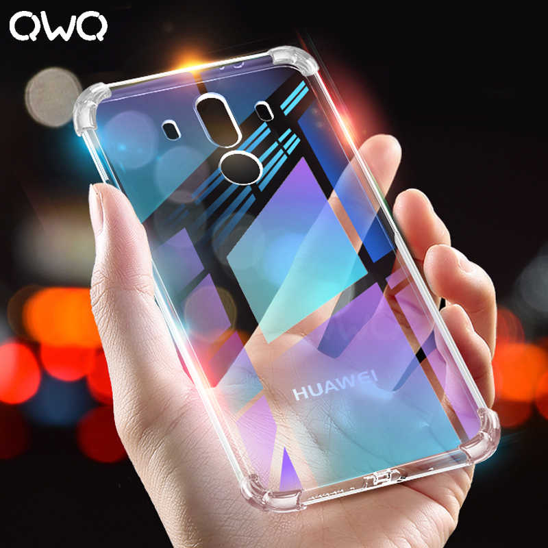 Shockproof Phone Case For Huawei P Smart 2019 Nova 3 3E 2i P30 P20 Lite Soft TPU Silicone Cover P20 P10 Mate 10 20 P30 Pro Case
