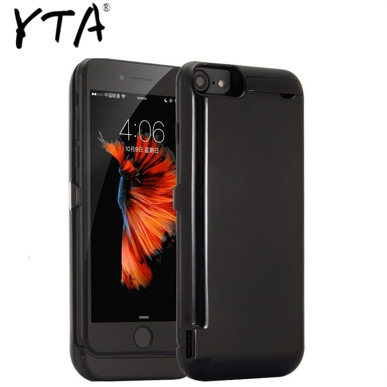 10000mah power <font><b>case</b></font> For <font><b>iPhone</b></font> <font><b>6</b></font> 6s plus <font><b>case</b></font> <font><b>Battery</b></font> Charger <font><b>Case</b></font> For <font><b>iPhone</b></font> <font><b>6</b></font> 6s 7 8 Plus Power Bank Charging <font><b>Case</b></font> Powerbank image