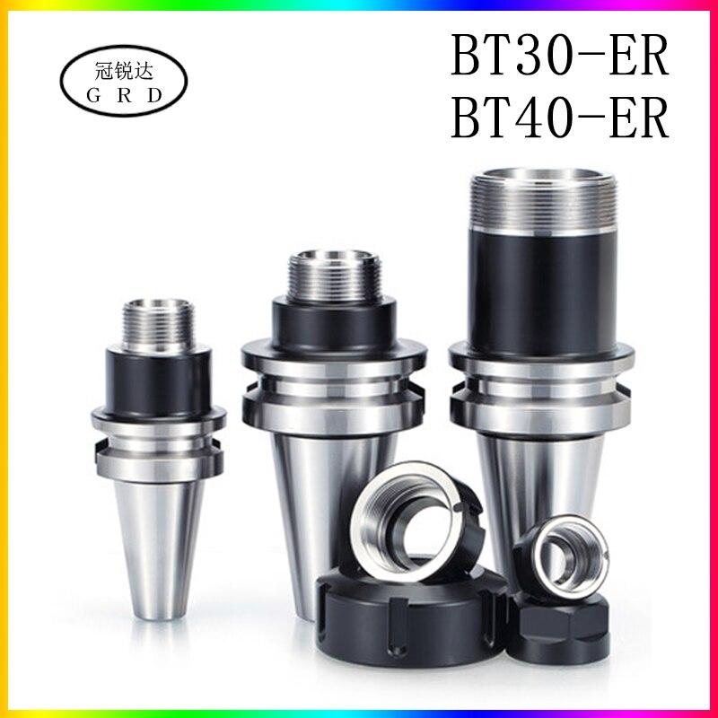 정밀 0.001 BT ER BT30 BT40 나이프 샹크 ER16 ER20 ER25 ER32 CNC 머시닝 센터 스핀들 공구 홀더 용 나이프 섕크