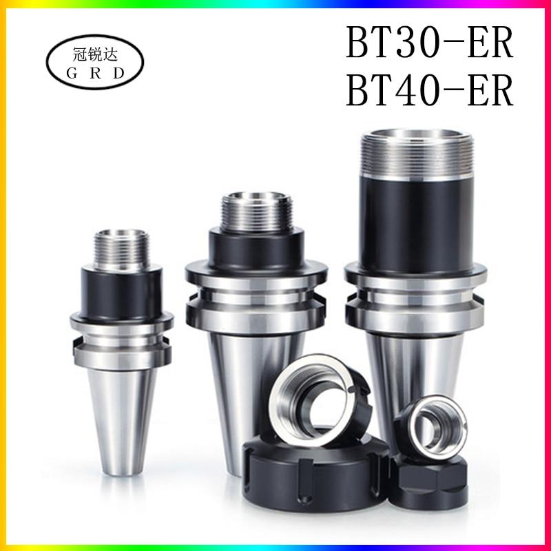 Precision 0.001 BT ER BT30 BT40 Knife Shank ER16 ER20 ER25 ER32 Knife Shank For CNC Machining Center Spindle Tool Holder
