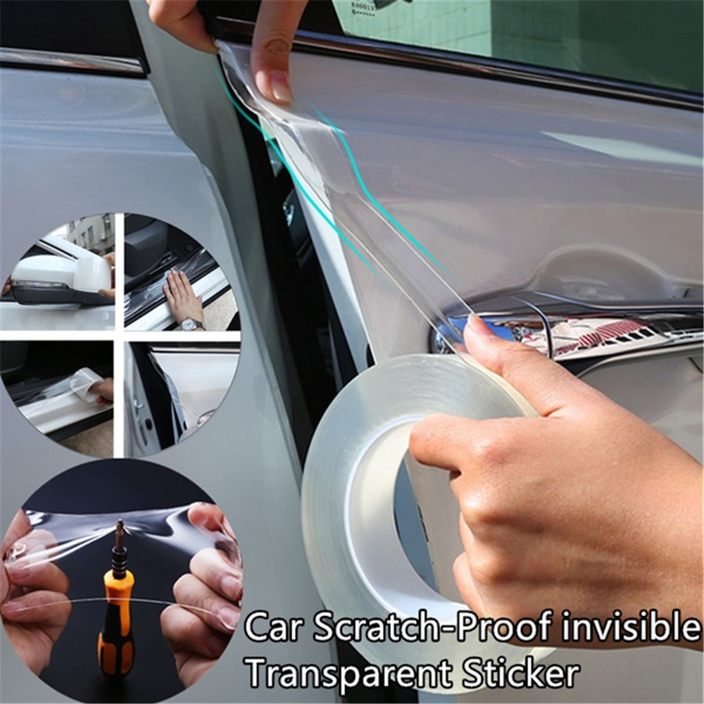 Protecting Car Bumper Paint Surface Scratch Prevention Body Transparent Automobile Paint Protective Film