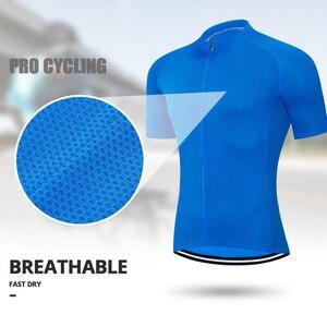 Image 3 - Men Short sleeve Cycling Jersey Mtb Road Bicycle Shirt Summer Breathable Bike Jersey Cycling Clothing Maillot Ciclismo