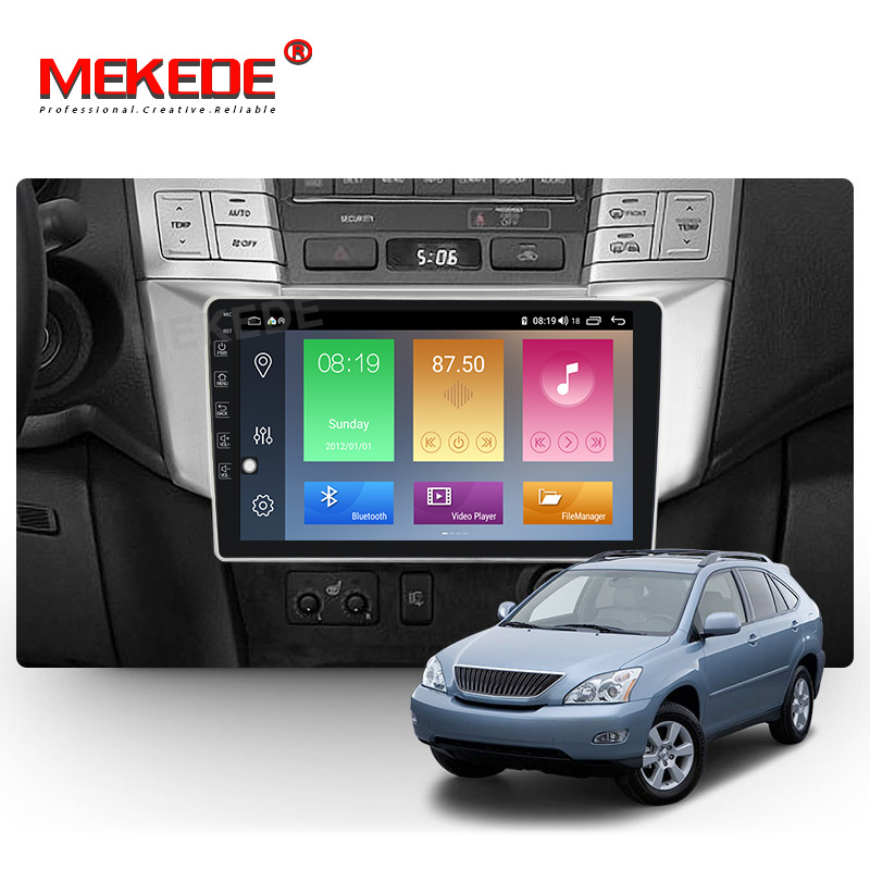 Mekede Car Multimedia Player for <font><b>Lexus</b></font> RX300 <font><b>RX330</b></font> RX350 RX400H Toyota harrier GPS Navigation <font><b>android</b></font> 10.0 Built-in carplay DSP image