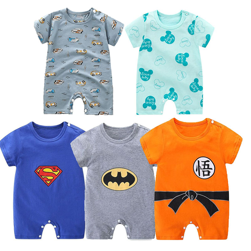 Cheap stuff Newborn Baby rompers cotton Infant Girls boys Jumpsuit 0 24 Month boys girls clothes baby Rompers Rompers  - AliExpress