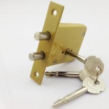DeadBolt cerraduras invisibles, prevenir bloqueo recoger doble barra Invisible, mortaja, tubewell, seguridad, cerraduras de Mortice