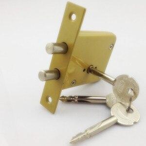 Image 1 - DeadBolt cerraduras invisibles, prevenir bloqueo recoger doble barra Invisible, mortaja, tubewell, seguridad, cerraduras de Mortice