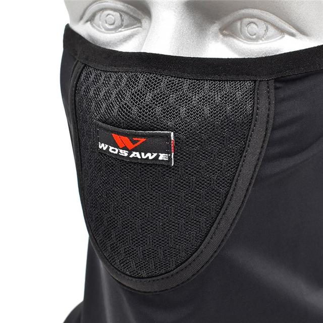 Motorcycle Mountain Bike Riding Face Towel Male Ice Silk Mask Sunscreen Face Towel Triangle Scarf Head Scarf Riding Scarf 3