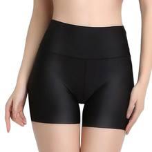Jupe-Short taille haute pour femmes, Boxer, culotte de sécurité pour filles, sous-vêtement pour garçons, collants, lingerie Slim, pantalons courts d'été
