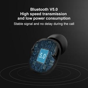 Image 4 - Беспроводные наушники TWS, наушники вкладыши с Blutooth, 5,0 настоящие беспроводные наушники, мини наушники для спортзала iPhone 11 Samsung