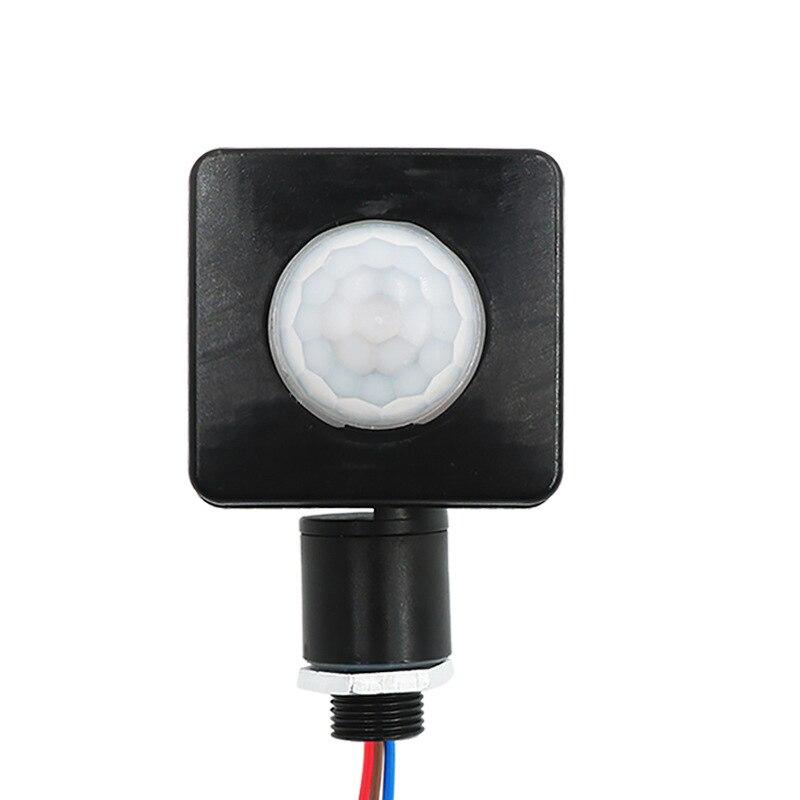 HOT Ultrathin LED Flood Light PIR Motion Sensor Detector Waterproof Outdoor 85-265V IP65 Motion Sensor Adjustable PIR Switch