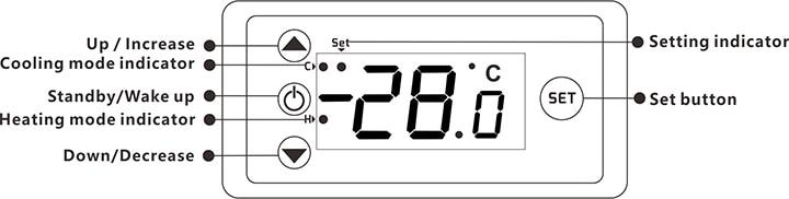 H0960481d74f144deb423270e6907e8e8H W3230 AC 110V-220V DC12V 24V Digital Thermostat Temperature Controller Regulator Heating Cooling Control Instruments LED Display