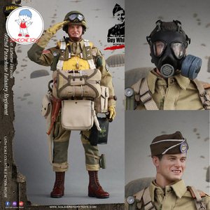 Image 1 - Soldier Story SS110 1/6 WWII US Army 101 Airborne Division 502 Regiment Paratroopers Male Soldier Action Figure Collections