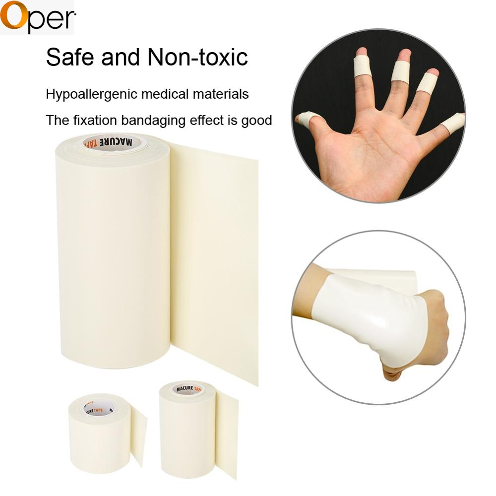 5/10cm*3m Microfoam Adhesive Foam First Aid Waterproof Tape Adjust Sports Cohesive Bandage Underwrap Medical Elastic Fixed Tapes