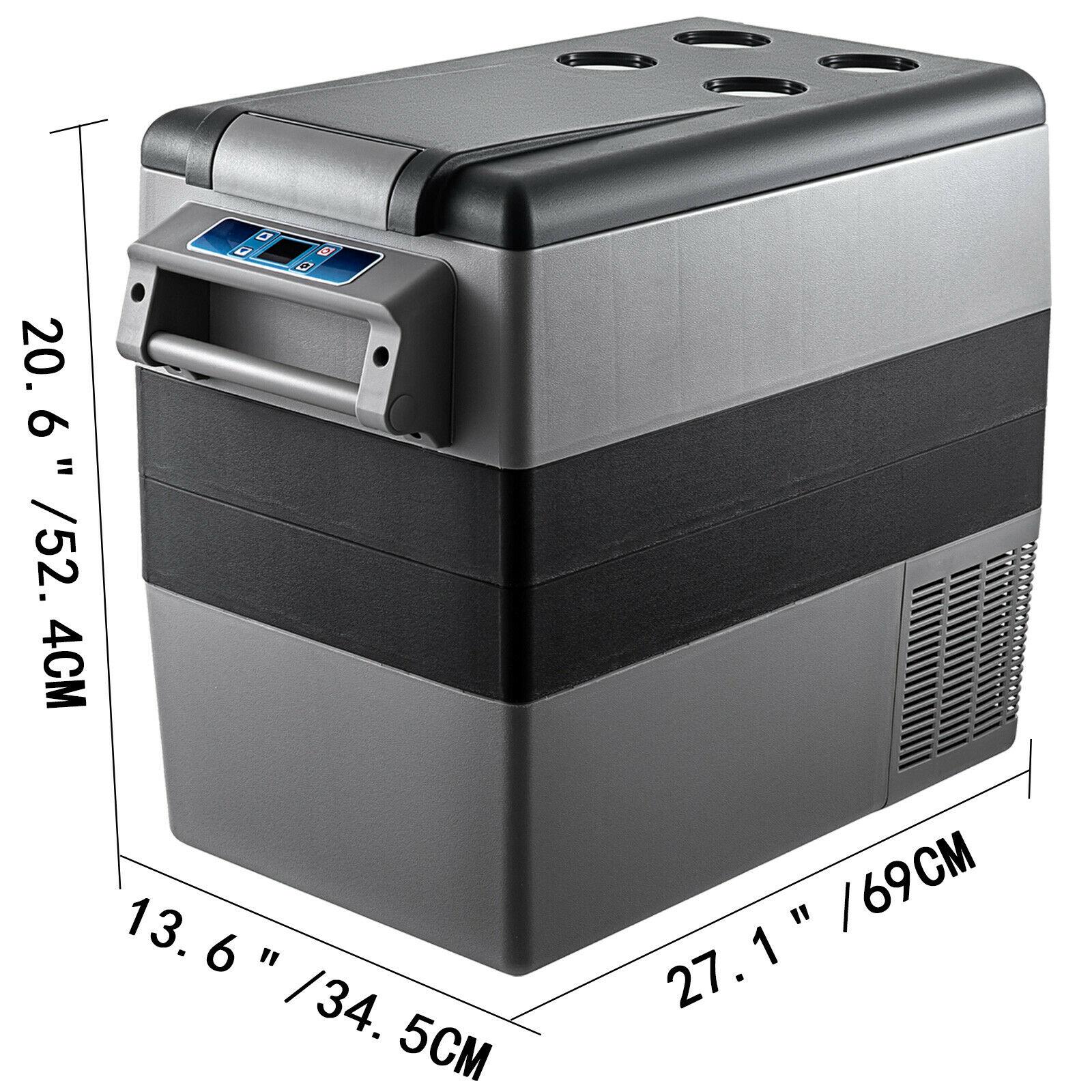 VEVOR 20L 22L 35L 45L 55L маленький автомобиль холодильник 12/24V DC 110-240V AC Портативный мини холодильники компрессора морозильных камер охладитель воздуха для дома 6