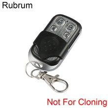 Rubrum 433 Mhz Không Dây Đa Năng Điều Khiển Từ Xa RF Cổng Điện Key Fob Mã Học Tập Để Xe Bộ Điều Khiển Cửa Bao Gồm Pin