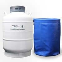 Yds контейнер дюар баки-контейнеры для хранения жидкого азота yds 15 80 криогенный крупного рогатого скота оборудование для оплодотворения