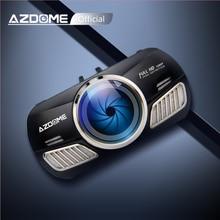 AZDOME M11 3 дюймов 2.5D ips Экран видеорегистратор с разрешением Full HD1080P автомобиля Камера DVR Двойной объектив Ночное видение 24 часа в сутки для парковочной системы регистратор авторегистратор видео регистратор