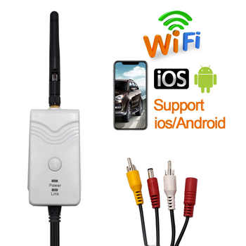 New Arrival!!! WiFi Transmitter Signal Repeater for Wireless Car Rear View Backup Camera for iPhone IOS & Android 903S - DISCOUNT ITEM  21 OFF Automobiles & Motorcycles