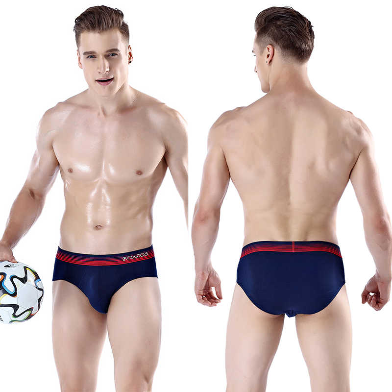 Marka seksi külot erkek iç çamaşırı erkek erkek Bikini külot eşcinsel aşınma iç çamaşırı pamuk kayma kısa çıkıntı moda yüksek kaliteli