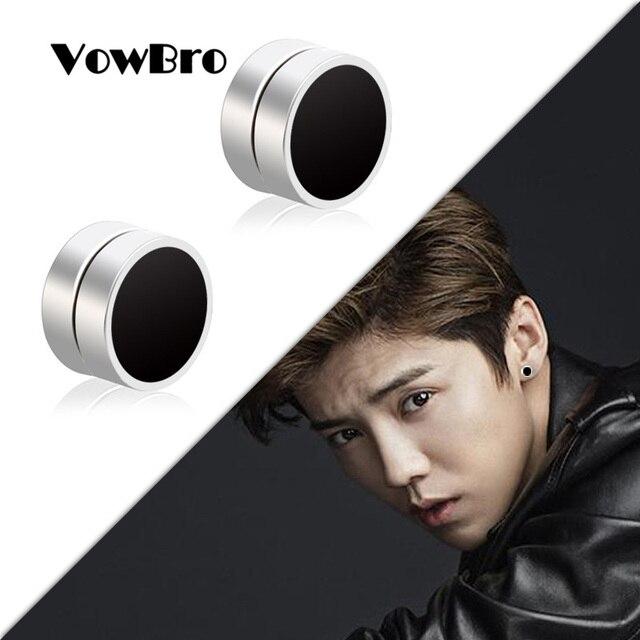 VowBro Ear Magic Strong Magnet Magnetic Earrings Ear Stud Punk No Hole Painless Earring Fake Earrings.jpg 640x640 - VowBro Ear Magic Strong Magnet Magnetic Earrings Ear Stud Punk No Hole Painless Earring Fake Earrings Boyfriend Jewelry