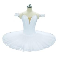 Wit Platter Tutu Zonder Decoratie Platter Tutu Zwart Volwassen Professionele Vlakte Roze Pannenkoek Tutu Professionele Ballet Kostuums