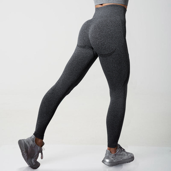 Fitness Womens Leggings High Waist Sexy Tights Legging Anti Cellulite Push Up Grey Womens Seamless Leggins Sports Pants 2020 image