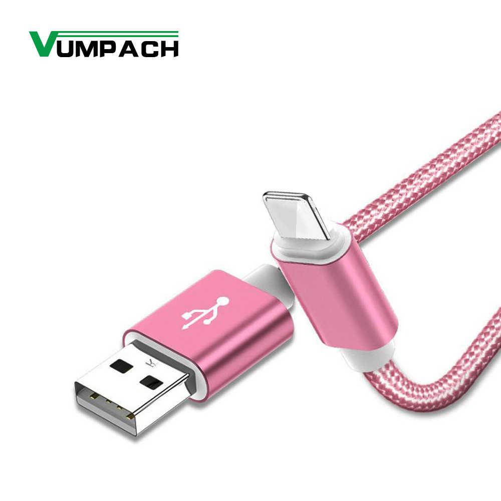 2.4A USB кабель для iphone 7 Xs MAX 6 plus 7 6s X 5 se ipad 2 mini USB кабель передачи данных для быстрой зарядки шнур 8 Pin apple iphone кабели
