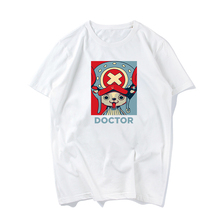 One Piece Printed Short Sleeve Tshirt Men Summer Fashion Short-sleeve Casual Tee Shirt Boys Casual T shirt Unisex White T-shirt цены