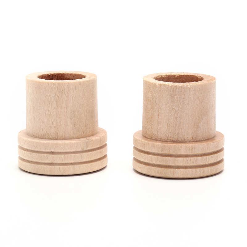1pcs עץ מוקסה לכיבוי רולר רול מחזיק מקל מוקסה מכשיר עיסוי תיבת עישון דיקור לענה